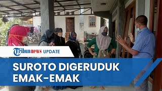 Harga Pakan Jagung Tak Kunjung Turun Seperti Janji Jokowi, Rumah Suroto Digeruduk oleh Emak-emak
