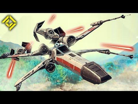 好神~使用空拍機拍攝的《星際大戰》空中戰鬥!