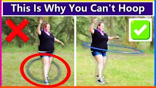 I Taught A Total Beginner How To Hula Hoop Around The Waist First Time