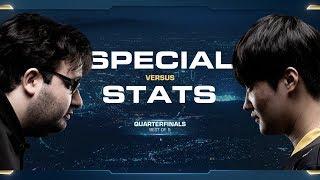 SpeCial vs Stats TvP - Quarterfinals - 2018 WCS Global Finals - StarCraft II