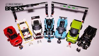 Lego Speed Champions All Sets from the January 2020 Wave