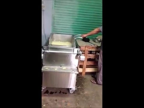 Batch Oil Fryer Machine