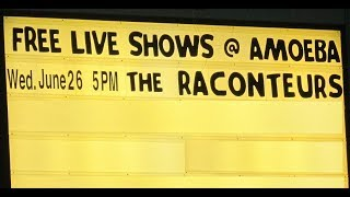 "The Raconteurs ""Bored And Razed"" Live   Amoeba Records, Hollywood"