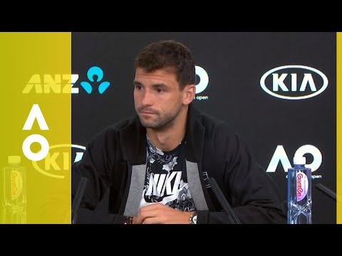 Grigor Dimitrov press conference (4R) | Australian Open 2018