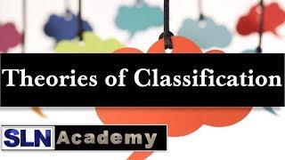 Theories of Classification - Aristotle theory, Carolus Linnaeus Theory