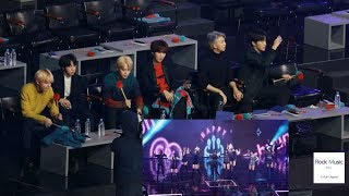 방탄소년단(BTS) React to TWICE(트와이스)(Bdz + What is Love?)[4K 직캠]@190106