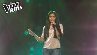 Salomé canta Darte un beso - Audiciones a ciegas | La Voz Kids Colombia 2018