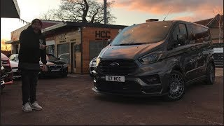 ONE OF THE WORLDS COOLEST TRANSIT VANS!! MS-RT FORD TRANSIT REVIEW