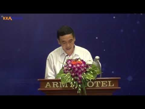 Phát biểu khai mạc HỘI THẢO DOANH NGHIỆP, DOANH NHÂN 4.0 - PGS.TS Lê Xuân Đình
