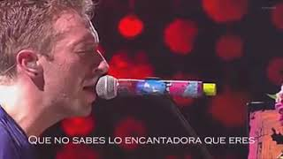 coldplay the scientist en vivo