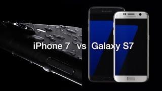 iPhone 7 vs Galaxy S7 - Spec Comparison