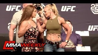 UFC 25th Anniversary Face-Offs  (FULL)