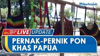 Pernak-pernik Khas Papua Mulai Bermunculan di Venue PON Papua, Tas Noken Dibandrol Mulai Rp50 Ribu