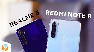 Xiaomi Redmi Note 8 vs Realme 5 Comparison Review
