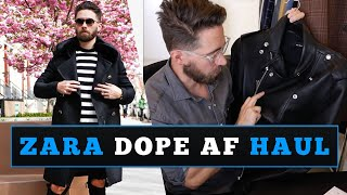 ZARA Style Try-on Haul | Dope AF Men's Fashion Guide [2018]