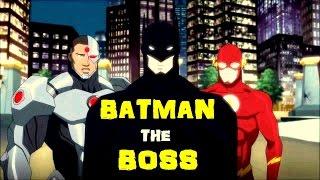 Batman is the Boss of Justice League || Justice League Vs Teen Titans 2016 Movie ||