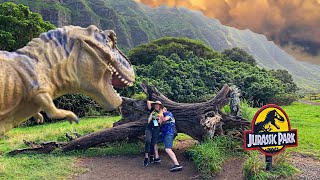 Best Tour in Oahu, Hawaii |Jurassic Valley, Kualoa Rach| VIP Movie Sites Tour