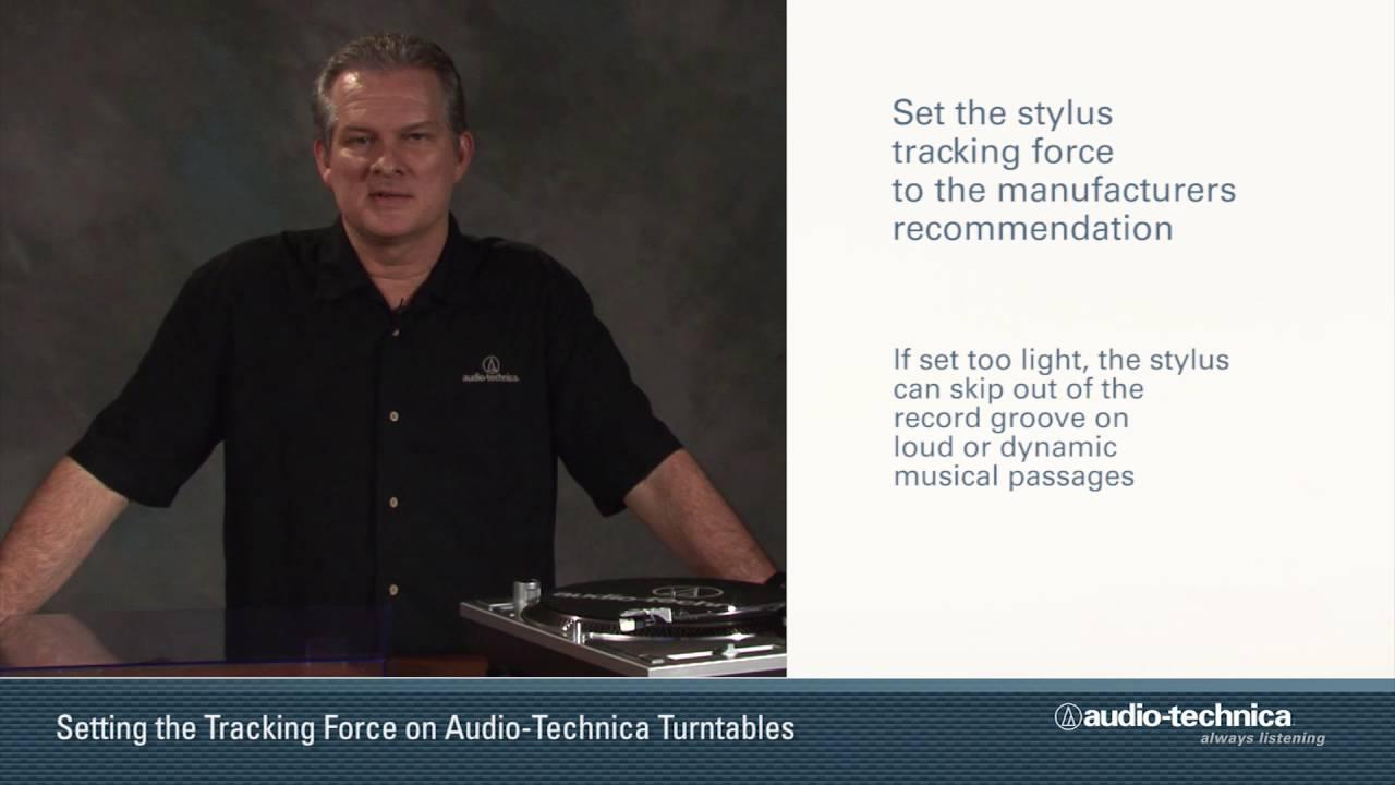 Professional DJ Turntable // AT-LP1240-USB video thumbnail