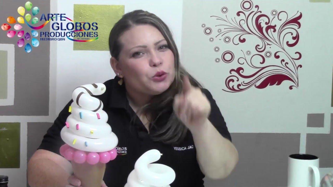 Candy Bar Barquilla en Globos. Fiestas infantiles.