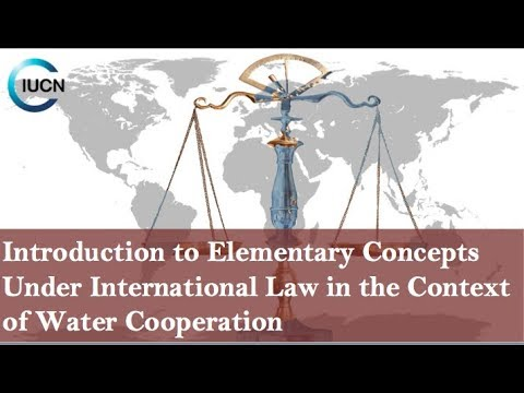 T1 Introduction to Elementary Concepts Under International Law