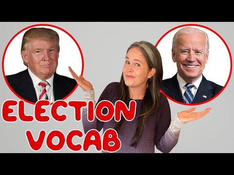 English Vocabulary: Election Vocabulary! All The Vocabulary You Need For Election Season!