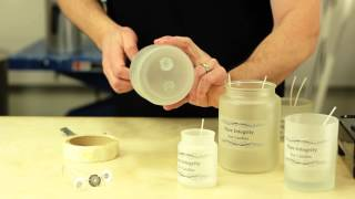 How To Make Candles In Jars : Basic Candle Making