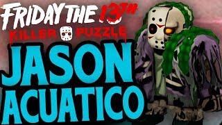 FRIDAY THE 13th KILLER PUZZLE - JASON ACUATICO EN VERANO FATAL - GAMEPLAY ESPAÑOL