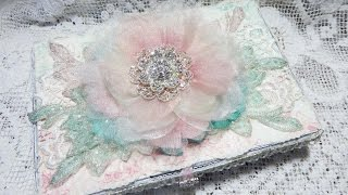 Shabby Chic Altered Box With Tresors De Luxe