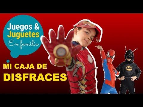 DISFRACES PARA NIÑOS // ENSEÑANDO MI COFRE DE DISFRACES