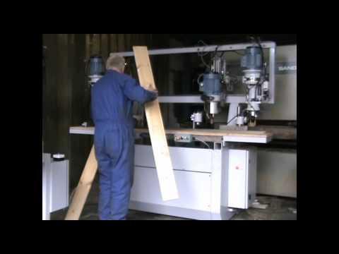 Interwood Boring Machine