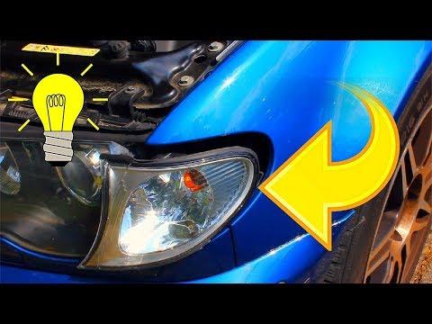 Glühbirne tauschen - Blinker wechseln beim Bmw E46 Anleitung
