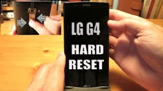 LG G4 Hard Reset (Factory Reset)