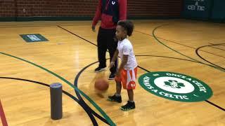 6- Year Old Kid Got INSANE Basketball HANDLES!!! DelsonTraining