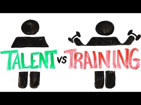 Talent versus trénink