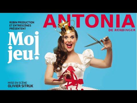 """Bande-annonce du précédent spectacle d'Antonia de Rendinger """"Moi jeu !"""""""