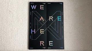 ♡Unboxing MONSTA X 몬스타엑스 2nd Studio Album Take.2 We Are Here (I, II, III  IV Ver.)♡