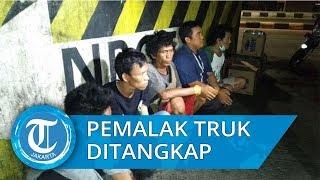 Sempat Viral, Kawanan Pemalak Sopir Truk di Jakarta Utara Diringkus