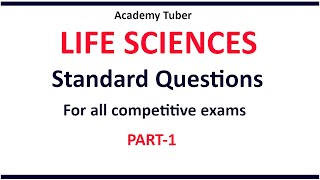 Life Science Questions And Answers For All Competitive Exams