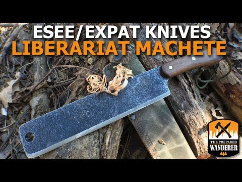 ESEE Expat Knives Libertariat Machete Review