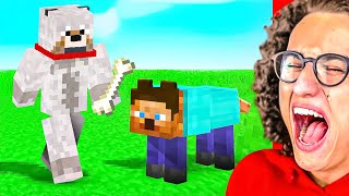 Only 2% Can Beat This MINECRAFT YOU LAUGH YOU LOSE CHALLENGE!