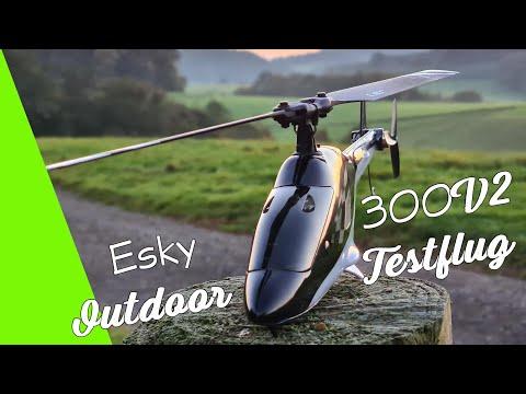 Outdoor Testflug Was geht?Outdoor test flight What\'s up?