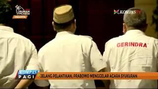 Jelang Pelantikan, Prabowo Gelar Acara Syukuran
