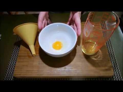 clarifier un œuf