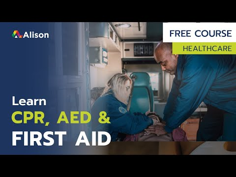CPR, AED & First Aid- Free Online Course with Certificate - YouTube
