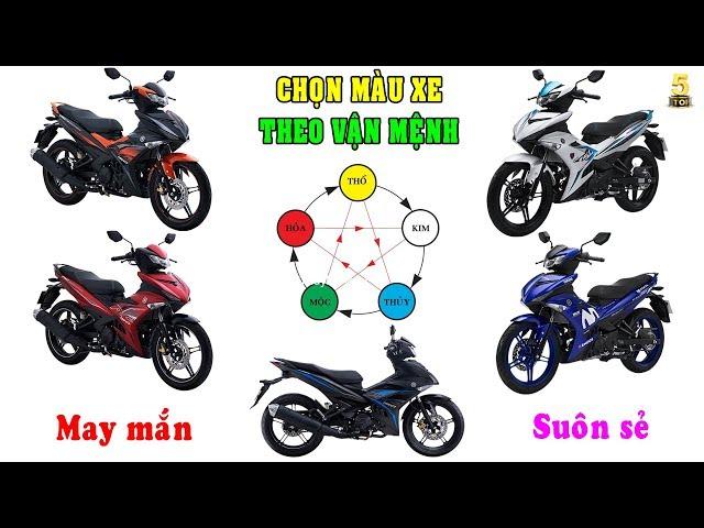 Lựa chọn MÀU SẮC xe máy theo Mệnh và Phong Thủy ▶️ Chọn MÀU SẮC xe để gặp may mắn �� TOP 5 ĐAM MÊ