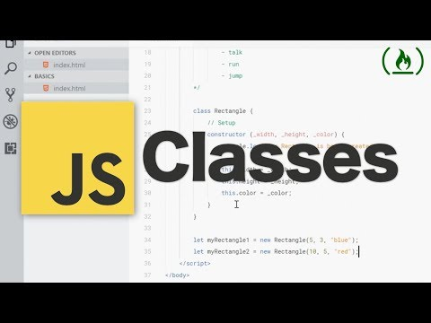 JavaScript Classes Tutorial