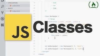 JavaScript Classes Tutorial
