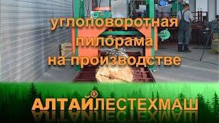 Пилорама дисковая углоповоротная АЛТАЙЛЕСТЕХМАШ Алтай ПДПУ550