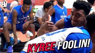 Kyree Walker & Friends Have Fun BULLYING Kids In AZ! SUPER JELLY + LeBron Dunks + BOTTLE FLIP!