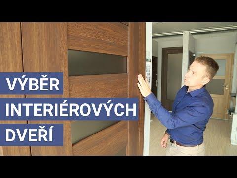 Výběr interiérových dveří